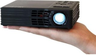AAXA Technologies AAXA MP300-02 LED Showtime 3D LED Home Theater Projector with 1280x800 Native Resolution HDMI and Full VGA 20 000 hour LED life