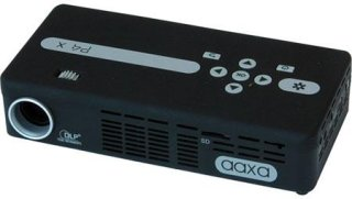 AAXA Technologies P4-X DLP Projector 95 Lumens WVGA Native Resolution Battery Rechargeable
