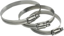 Aba Of America Heavy-Duty 316 Stainless-Steel Hose Clamps