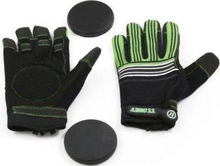 Abec 11 Lightweight Mesh Slide Gloves Downhill Slide Gloves