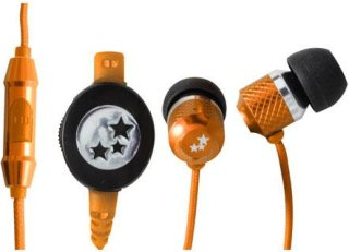 Able Planet Musician's Choice SI170OR In-Ear Headphones 20 Hz-20 KHz Frequency Range 2mW Power Orange