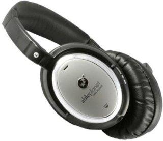 Able Planet NC500SC Sound Clarity Active Noise Canceling Headphones LINX Audio Technology Black