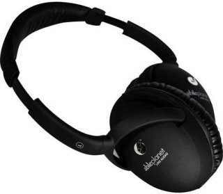 Able Planet PS400B True Fidelity On-Ear Stereo Headphones 6.5' (1.9 m) Cable Length Soft Touch Finish