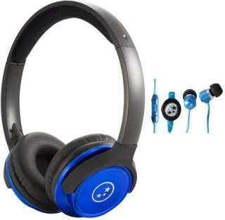 Able Planet SH180BLM-SI170BL Musicians' Choice Over-the-Ear Stereo Headphones 20 Hz - 20 kHz Frequency Range Blue
