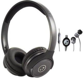 Able Planet SH180GMM-SI170GM Musicians' Choice Over-the-Ear Stereo Headphones 20 Hz - 20 kHz Frequency Range Gun Metal