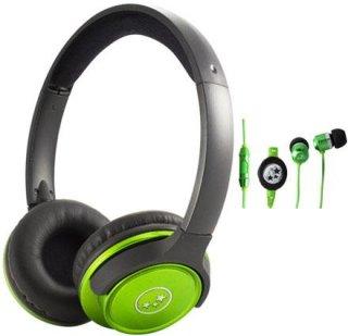 Able Planet SH180GRM-SI170GR Musicians' Choice Over-the-Ear Stereo Headphones 20 Hz - 20 kHz Frequency Range Green