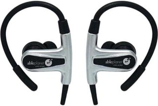 Able Planet SI400 Sound Clarity Sport In Ear/Hook Headphones with Microphone and Remote Gun Metal
