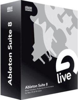 Ableton Suite 8 Full Version Music Production Suite Upgrade for Owners of Live LE and Intro