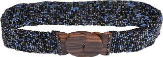 About Color Fashion Wood Buckle Belt