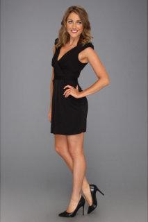 ABS Allen Schwartz Accentuated Shoulder Dress