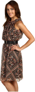 ABS Allen Schwartz Sleeveless Dress w/Keyhole Front and Back