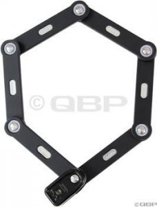 Abus Bordo 6000 Combo Folding Lock: 75cm Black