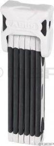Abus Bordo BIG 6000 Folding Lock: 120cm White
