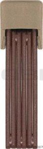Abus Bordo Ecoution 6000 Folding Lock: 90cm Brown