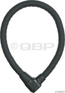 Abus Granit Steel-O-Flex 1000 Armored Cable Lock: Black