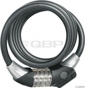 Abus Raydo 1440 Combo Cable Lock: Black