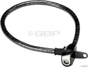 Abus Steel-O-Flex MicroFlex 690 Armored Cable Lock: Black