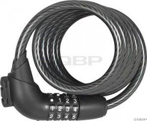 Abus Tresor 1350 Combo 10mm Cable Lock: Black