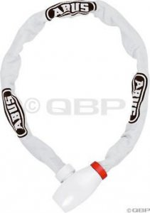 Abus uGrip 585 Chain Lock: 100cm White