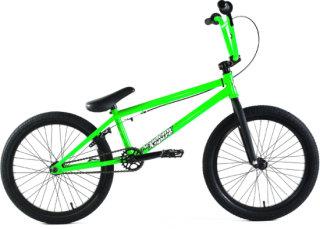 Academy Bmx Neon Green/Black 20in