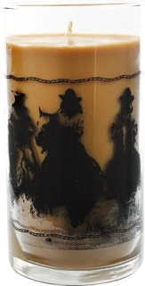 Acadian Candle Company Leather Candle