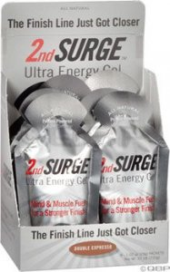 Accelerade Accel Gel 2nd Surge: Double Expresso Box of 8