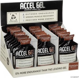 Accelerade Accel Gel: Chocolate 24 Pack