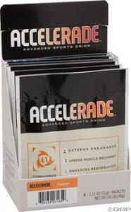 Accelerade Orange Box of 36 Single Serve Packets