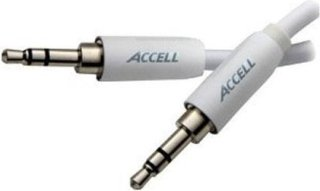 Accell 7' Stereo Audio Cable for iPod 3.5mm Male to 3.5mm Male