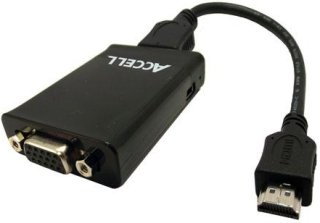 Accell HDMI (Type-A) to Female VGA Adapter