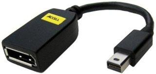 "Accell UltraAV 5.2"" Mini DisplayPort to DisplayPort Female Adapter"