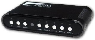 Accell UltraAV 5x1 Audio/Video HDMI Switch 5 HDMI Inputs 1 HDMI Output