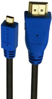 Accell Ultracam Cable Adapter HDMI Type A to HDMI Micro Type D 6'