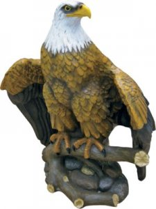 Accents Unlimited Majestic Eagle Statue