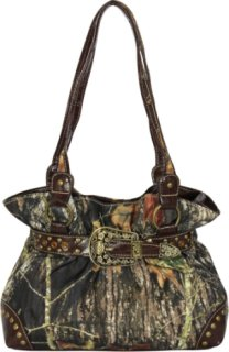 Accessories Plus Camo and Buckle Purse