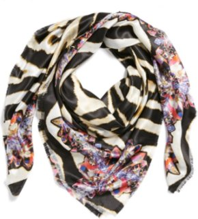 Accessory Street Floral Scarf Lipstick One Size One Size