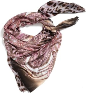 Accessory Street Leopard Print Scarf Lavender One Size One Size