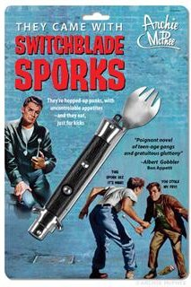 Accoutrements Switchblade Spork