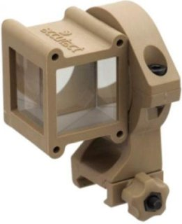 Accutact AS-STD-DT Standard Anglesight Combat Lifesaver with Picatinny Mount - Dessert Tan