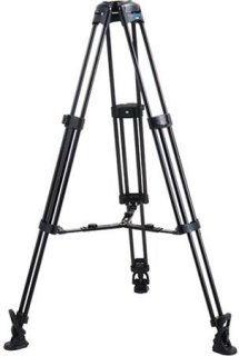 Acebil 1 Stage 100mm Ball Base Aluminum Tripod with MS-5 Middle Spreader and RF-3 Rubber Foot 88 lb Load Capacity