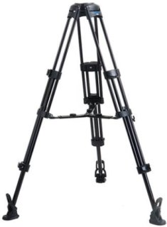 Acebil 2 Stage 100mm Ball Base Aluminum Tripod with MS-5 Middle Spreader and RF-3 Rubber Foot 88 lb Load Capacity