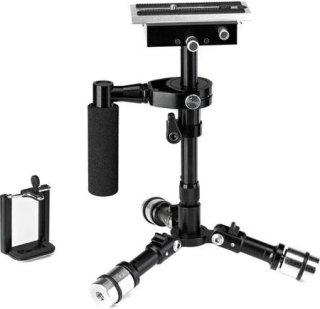 "Acebil Eagle Mini Handheld Stabilizer for Digital Camera and Smartphone Up to 800g / 28.21oz Load Range 325mm / 12.8"" Max Length"