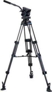 """Acebil ENG Ball Base Carbon Fiber Tripod With EH-80 Pan/Tilt Head Middle Spreader Up to 40 lb Load Capacity 33.1 to 66.1"""" Height Adjustment Range"""