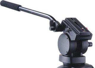 Acebil H20 Video Pan/Tilt Head with 75mm Ball Supports 13 lbs
