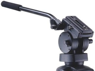 Acebil H50 Video Pan/Tilt Head with 75mm Ball Supports 22 lbs