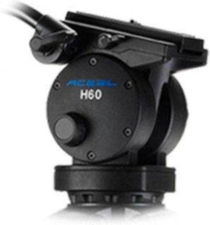 Acebil H60 100mm Ball Head 3 Steps Counter Balance 3 Steps Pan and Tilt Drag 11lb to 26.4lb Load Capacity