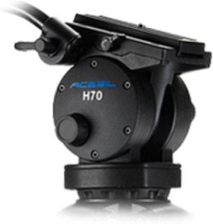 Acebil H70 100mm Ball Head 3 Steps Counter Balance 3 Steps Pan and Tilt Drag 33 lbs Load Capacity