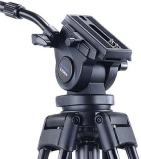 Acebil H805 Video Pan/Tilt Head with 75mm Ball Supports 8 lbs