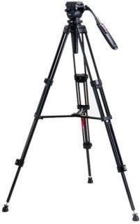 "Acebil i-705DX Tripod System with RMC-P3PL Zoom Control Handle 9 lb Load Capacity 62"" Max Height"