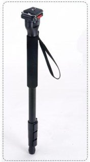Acebil MP-50V 3-Section Aluminum Monopod with Quick Shoe Holds 6.5 Lbs (3 kg)
